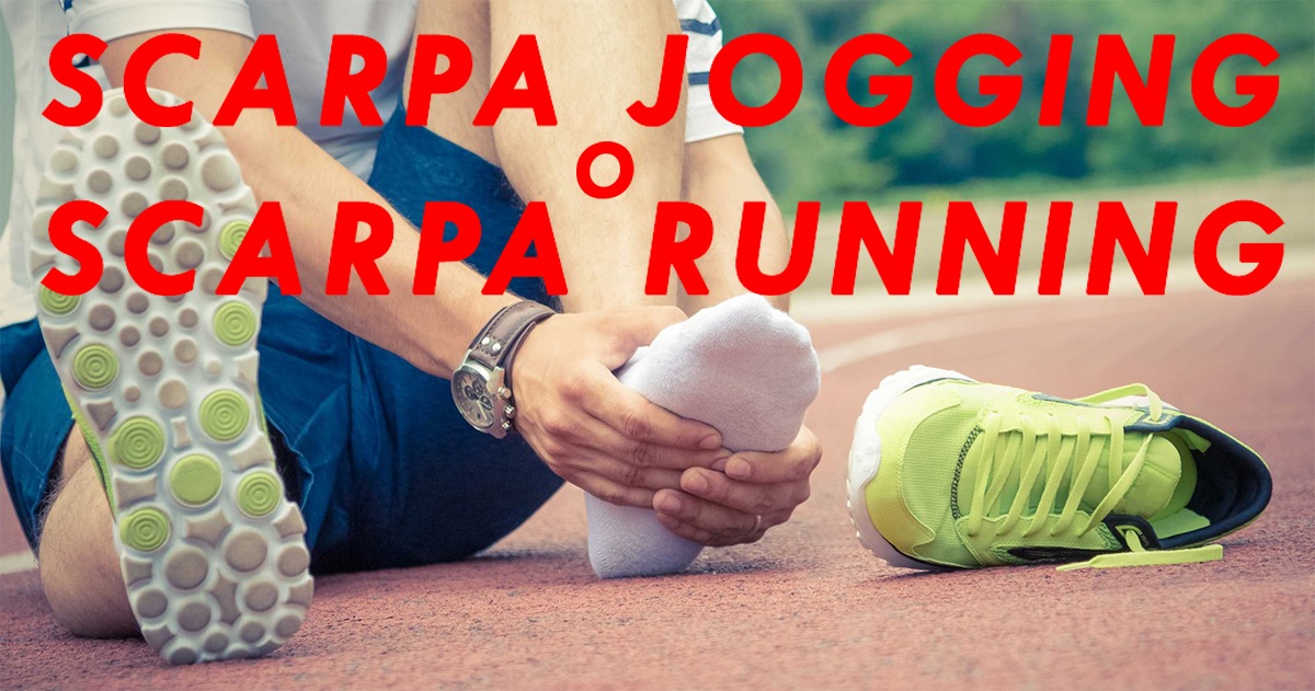 scarpa jogging running footing