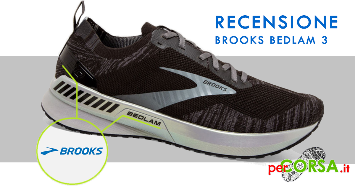 scarpe running brooks bedlan