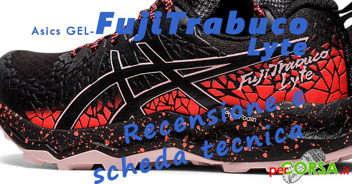 Asics FujiTrabuco Lyte scarpa trail