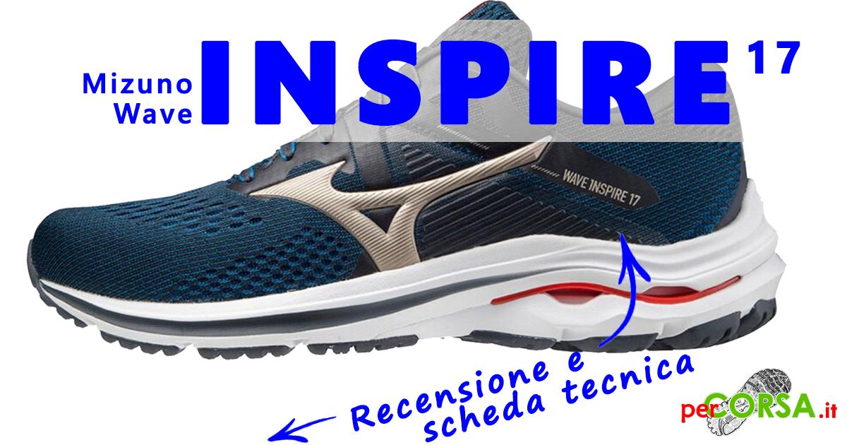 scarpe mizuno wave inspire 17