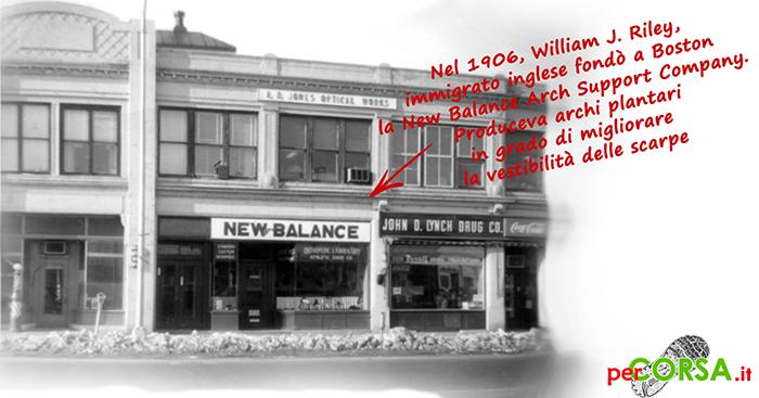 storia del marchio new balance