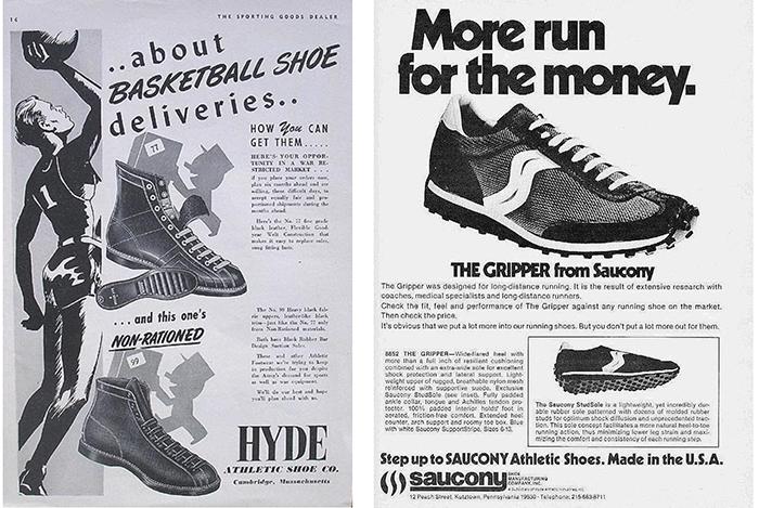 storia scarpe running saucony