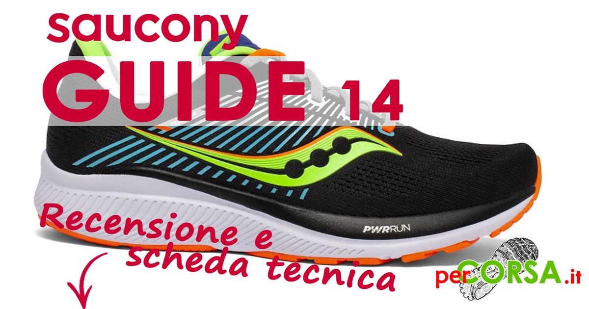 scarpa running Saucony guide 14