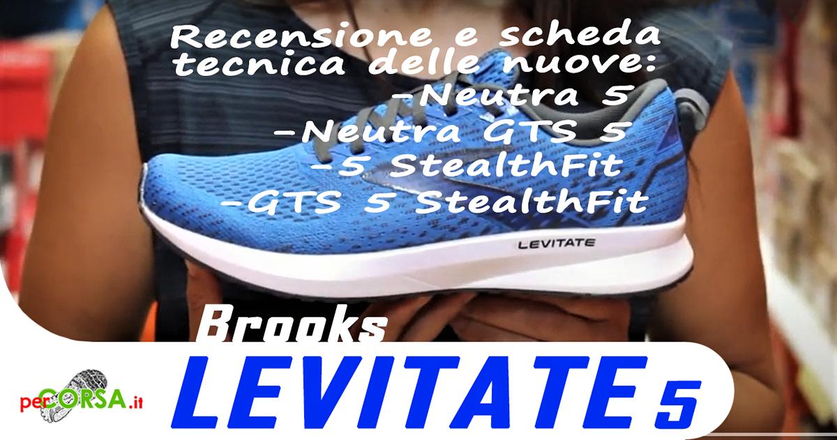 Brooks levitate 5 recensione test